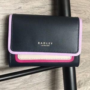 NWT- Radley London Small Leather Wallet, Selby St